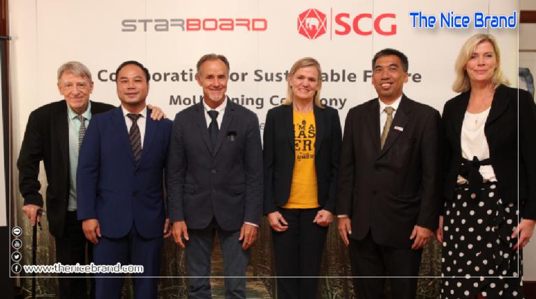 เศรษฐกิจหมุนเวียน เวิร์ค! SCG – Starboard ร่วมใช้ลดปัญหาสิ่งแวดล้อม