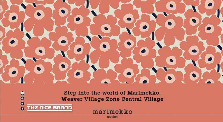 Marimekko Outlet เปิดแล้ว