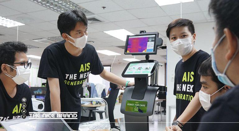 AIS ROBOTIC LAB ลุยสร้างและส่งมอบ หุ่นยนต์ 5G