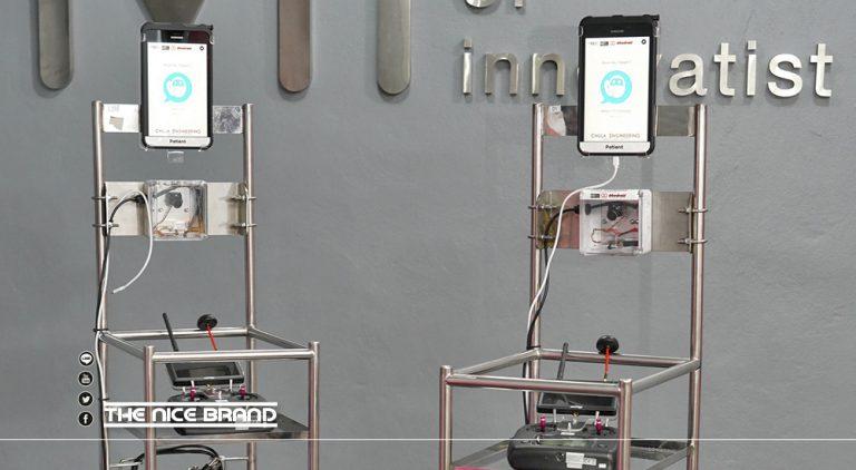 ซัมซุง ส่งอุปกรณ์สนับสนุนทีมพัฒนา CU-RoboCovid