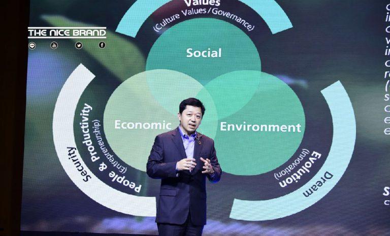 """""""CEO เครือซีพี"""" ปลุกพลังนวัตกรรมสร้างวิถีชีวิตใหม่ยั่งยืน"""