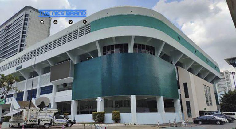 เครือซีพี-ซีพีเอฟรวมพลังมอบอาหารปลอดภัย-ครุภัณฑ์ให้รพ.สนาม อาคารกีฬานิมิบุตร